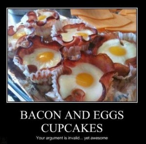 Bacon-And-Egg-Cupcakes