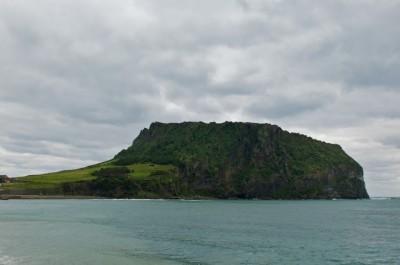 La roche volcanique de Jeju